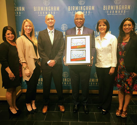 Partnership with the City of Birmingham